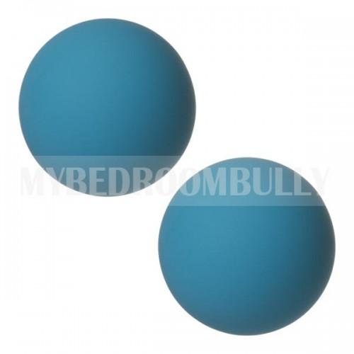 Mood Collection - Steamy Silicone Ben Wa Balls - Blue