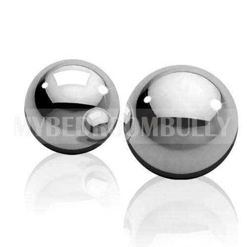 Metal Worx Ben Wa Balls - Small - Silver
