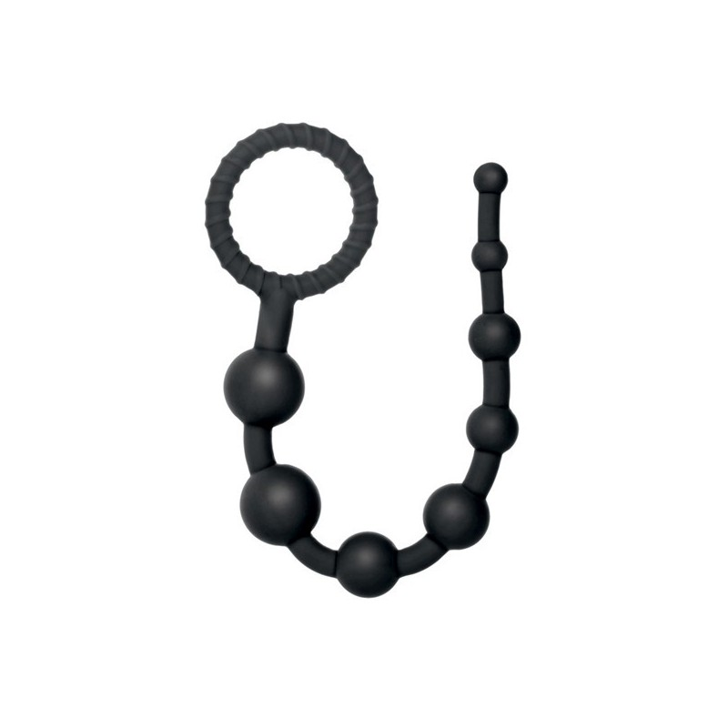 Coco Licious Collection - Anal Play Beads - Black